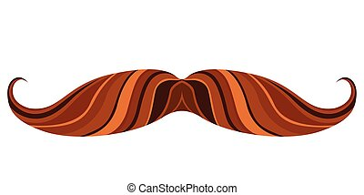 Hipster mustache icon