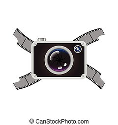 Hipster Retro Photo Camera