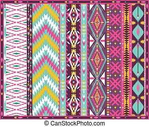 Hipster seamless aztec pattern