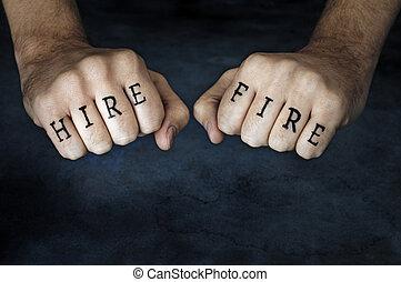 hire, ∥あるいは∥, fire?