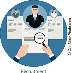 Hiring and human resources concept