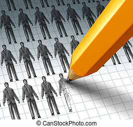 Hiring Employees and adding new job opportunities to a group...