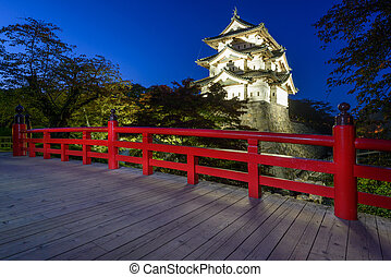 Hirosaki Castle in Japan