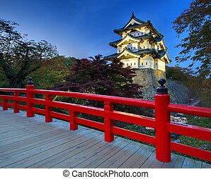 Hirosaki Castle - October 27: Hirosaki Castle in Hirosaki,...