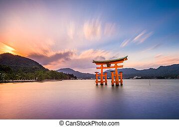 hiroshima, miyajima, japan