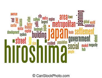 Hiroshima word cloud
