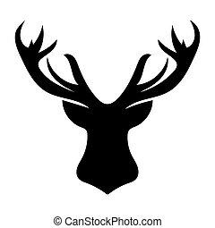 rehkitz schwarz wei es silhouette hintergrund rehkitz silhouette abbildung hintergrund. Black Bedroom Furniture Sets. Home Design Ideas