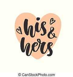 His and hers Clipart and Stock Illustrations. 935 His and ...