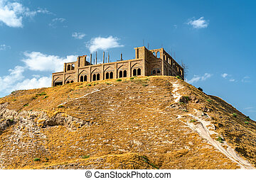 Hisor Fortress in Tajikistan - View of Hisor Fortress in...