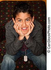 Hispanic Boy