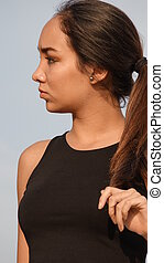 Hispanic Girl Pretty
