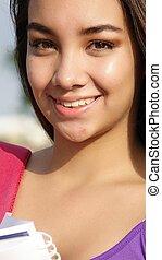 Hispanic Girl Student