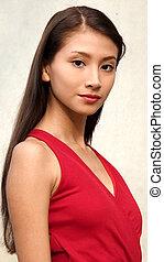 Hispanic Girl Teenager