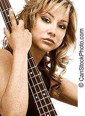 Hispanic guitarist