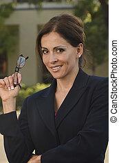 hispanic kobieta, handlowy
