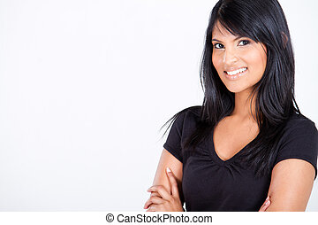 hispanic kobieta, młody, pociągający