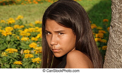 Hispanic Teen Girl