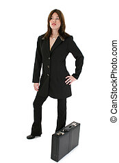 Hispanic Woman Suit