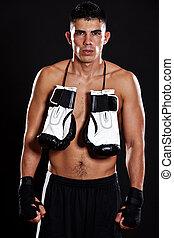 hispano, boxeador