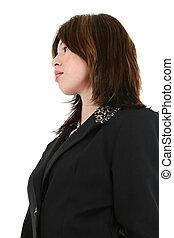 hispano, mujer de negocios