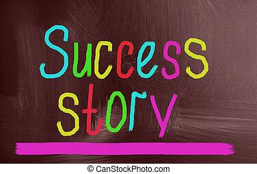 história, conceito, sucesso