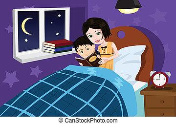 história, hora dormir