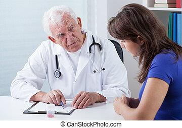 história médica