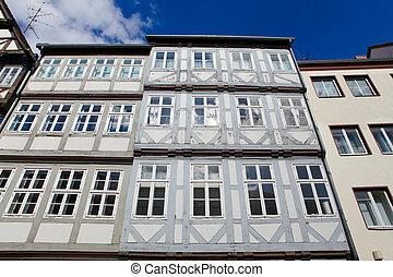 histórico, arquitetura, em, hannover