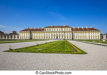 histórico, castillo, schleissheim