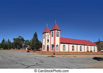 histórico, colorado, igreja
