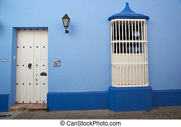 histórico,  de,  Cartagena,  indias