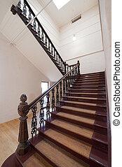 histórico, escadaria