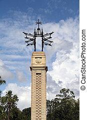 histórico, estrutura, em, a, san marco, distrito, de, jacksonville, flórida
