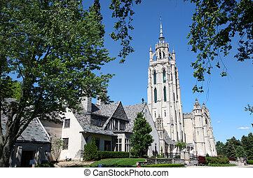 histórico, igreja, em, michigan