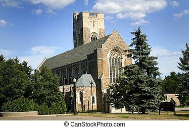 histórico, igreja