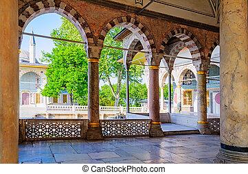 histórico, Istambul, centro