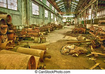 histórico, mina ouro, em, espanha
