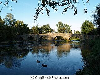 histórico, ponte