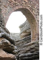 histórico, puente de piedra