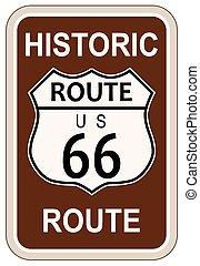 histórico, rota 66