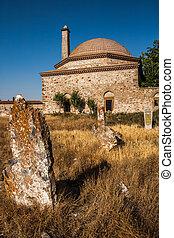 histórico, túmulo, de, otomano, era
