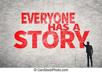 histoire, a, everyone