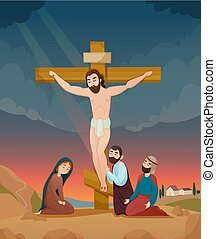 histoire, bible, illustration