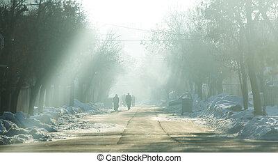 histoire, hiver