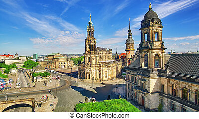 Histoirical center of the Dresden Old Town, Zwinger, Theatre...