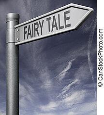 historia, fe, vägmärke