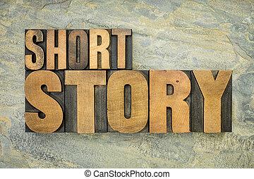 historia, madera, tipo, cortocircuito