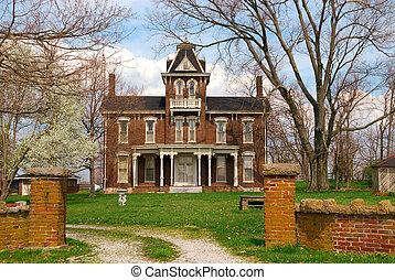 Historic 1800s Brick Home