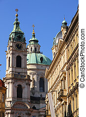 Historic Architecture in Prague - Historic buildings in...
