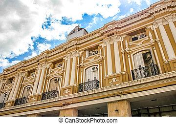 Historic architecture in Salta, Argentina